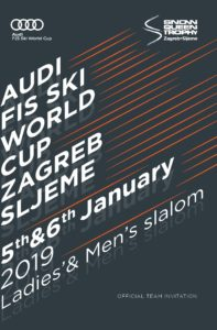 TEAM INVITATION-ZAGREB WORLD CUP 2018-2019