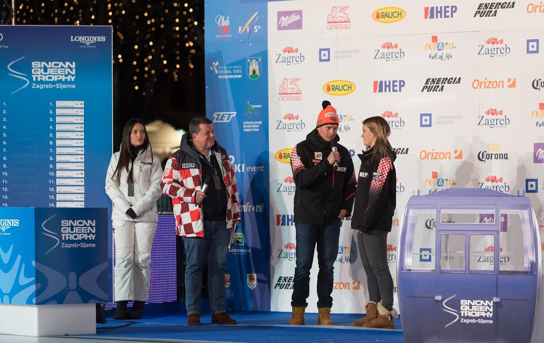 Andrea Komšić hrvatska predstavnica u ženskom slalomu