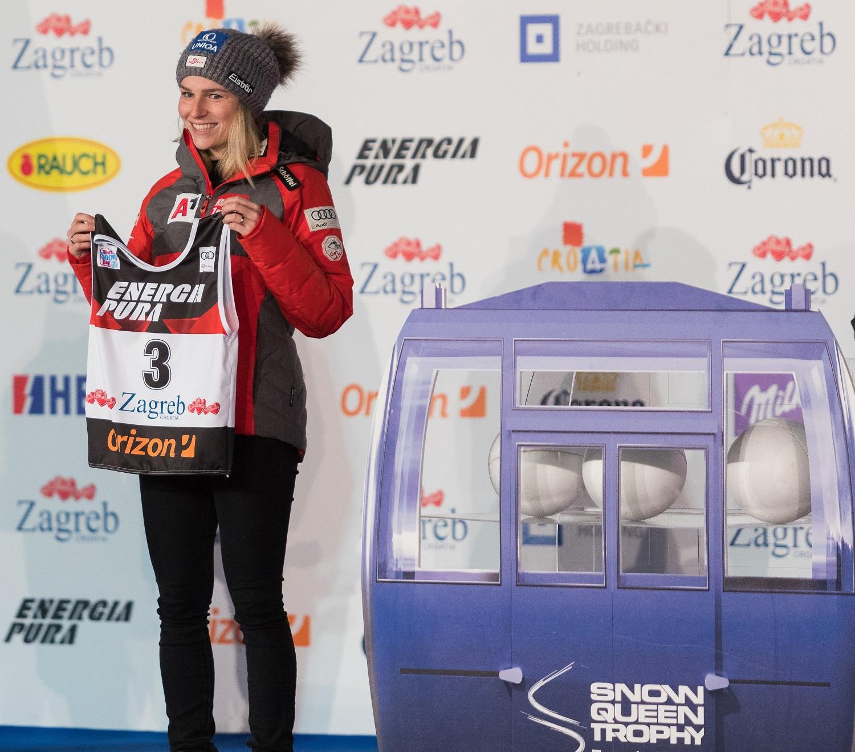 Austrijska skijašica Bernardete Schild starta treća